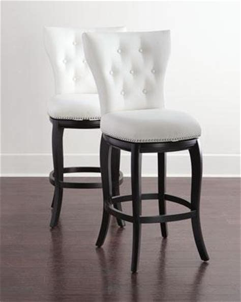 hayes  colors button tufted barstool