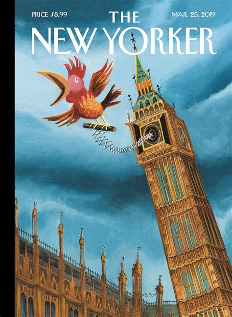 The New Yorker cover 25/03/2019 : brexit