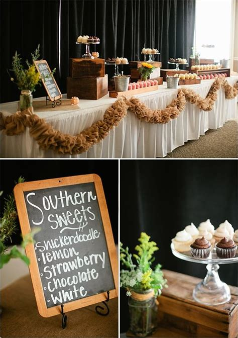 diy rustic wagon wheel wedding the old dessert bars and
