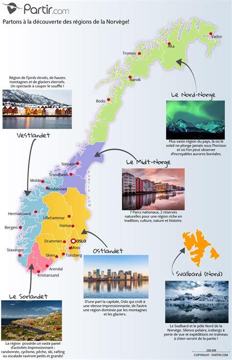 Carte Du Monde Avec Norvege by Que Voir En Norv 232 Ge Top 20 En 4 Cartes 224 Ne Pas Manquer