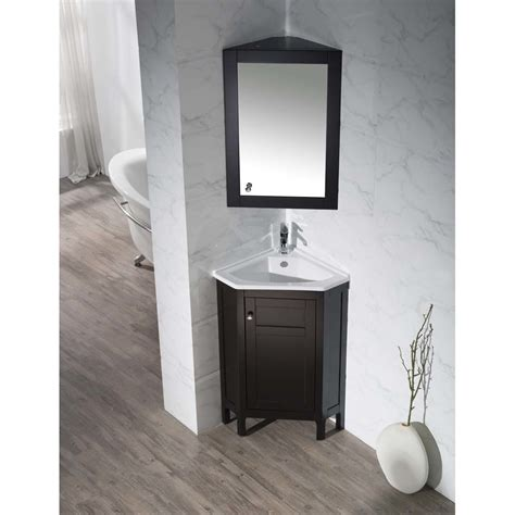 home loft concepts  single corner bathroom vanity
