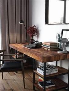 Schreibtisch Dunkles Holz : 1001 ideen f r schreibtisch selber bauen freshideen ideen rund ums haus pinterest ~ Yasmunasinghe.com Haus und Dekorationen