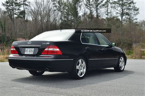 2005 Lexus Ls 430 Ls430 Loaded Mark Levinson Alloys 70