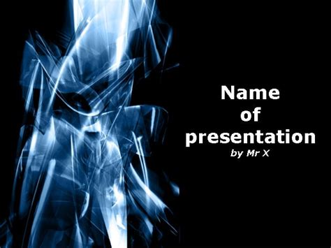 abstract white ray powerpoint template