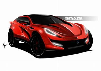 Ferrari 2021 Suv Rendering Dramatic Envisioned Top10cars