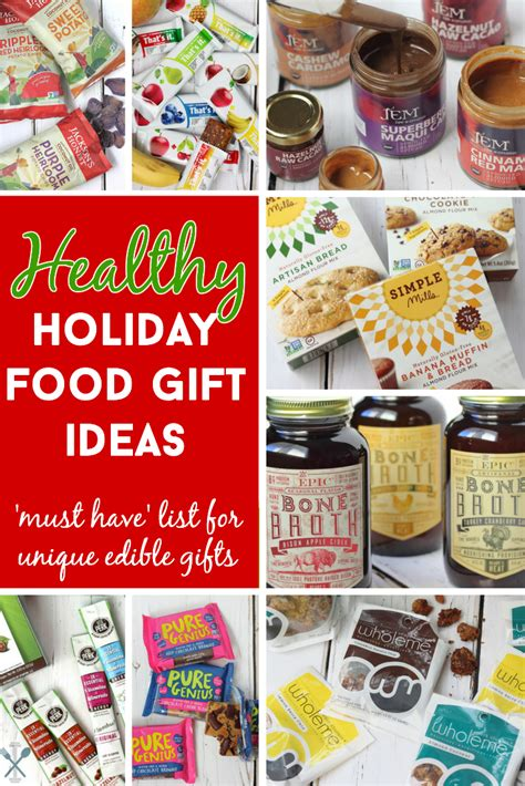 healthy and unique food gifts
