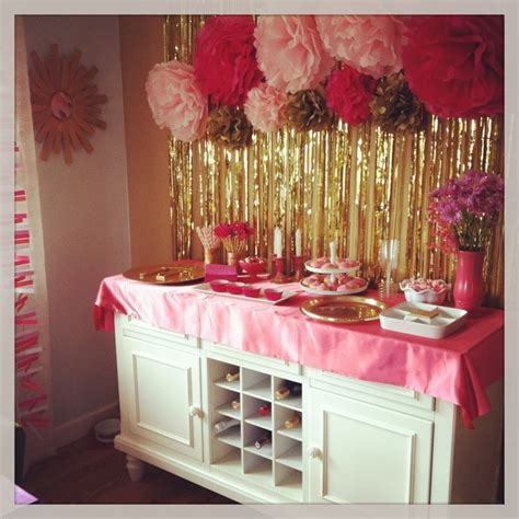 pink and gold birthday themes gold pink and gold and ideas on