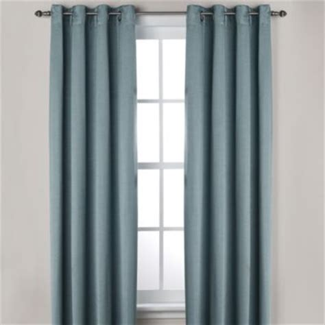 buy blue window curtains from bed bath beyond