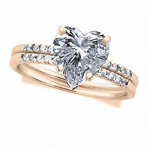 bridal sets bridal sets heart shaped diamond With heart shaped wedding rings bridal set