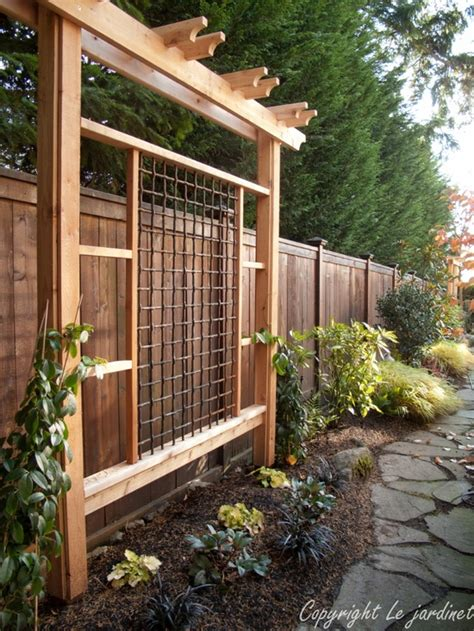 Backyard Trellis Ideas by Inspire Your Garden With A Trellis Dig This Design