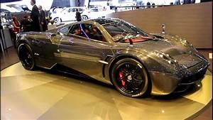 Pagani Huayra Carbon Edition at the 2012 Geneva Motor Show ...