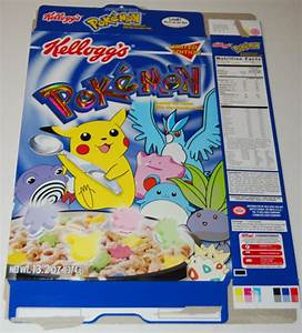 pokemon cereal images
