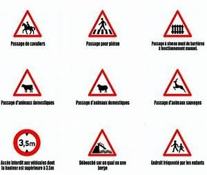 Code De La Route Signalisation : panneau permis de conduire cj42 humatraffin ~ Maxctalentgroup.com Avis de Voitures