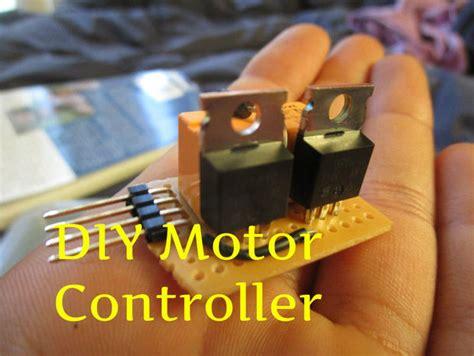 diy mosfet motor controller makezilla