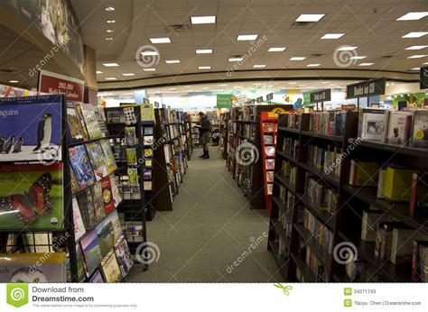 barnes and noble seattle bookstore editorial stock photo image 34071743