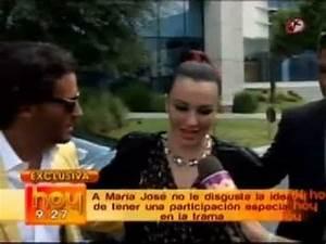 María José - Porque el Amor Manda (HOY) - YouTube