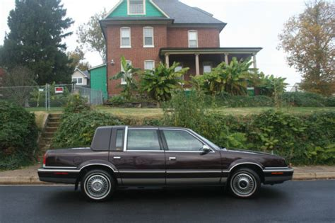 electric and cars manual 1992 chrysler fifth ave lane departure warning 1992 chrysler new yorker fifth avenue classic chrysler new yorker 1992 for sale