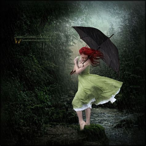 spring rain  suziekatzdeviantartcom  atdeviantart