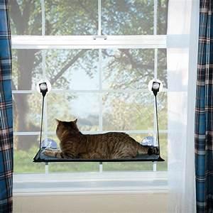 K U0026h Manufacturing Kitty Sill Ez Window Mount Cat Perch