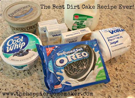 how to make dirt cake best dirt cake recipe ever the happier homemaker