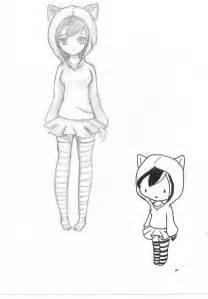 Cute Easy Anime Drawings