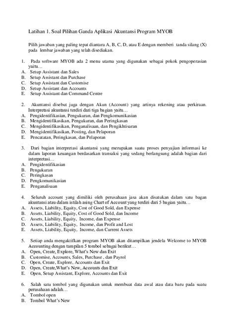 Berikut ini adalah rincian soal penjaskes kelas 10 sma/ma semester 1. Contoh Soal Pilihan Ganda Tentang Pajak Beserta Jawabannya ...