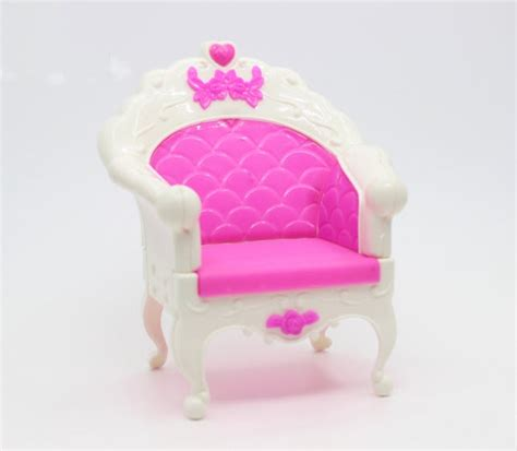 doll accessories plastic fashion style chair princess doll