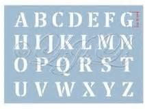 Buchstaben Schablone Metall : buchstaben schablone 143 individuelle produkte aus der kategorie material dawanda ~ Frokenaadalensverden.com Haus und Dekorationen