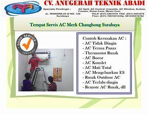 Contoh Flyers Servis Air Cond