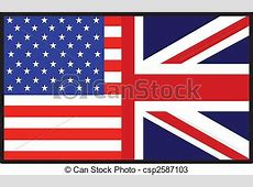 Drawings of America British Flag A flag that\'s half