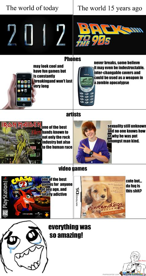 Memes Then And Now - now vs then by imogen meme center