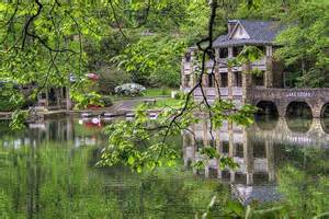 Rain Stand by Lake Susan At Montreat Conference Center Montreat Nc A