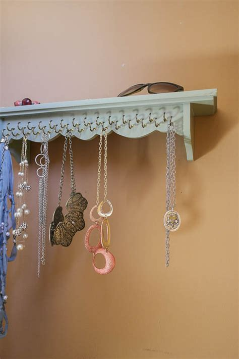 awesome ideas  diy wall jewelry organizers