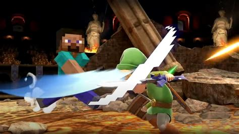 steve smash ultimate minecraft bros nintendo mario super game characters speed dlc into zombie boost