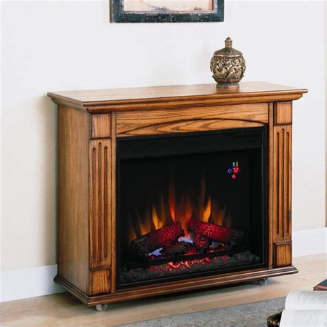 classic flame lancaster antique oak electric fireplace ebay