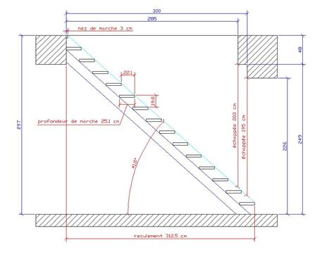 formule de l escalier besoin d aide pour calculer un escalier droit