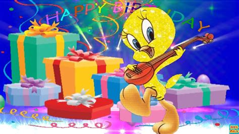 Happy Birthday Image by Happy Birthday Song For With Tweety Bird