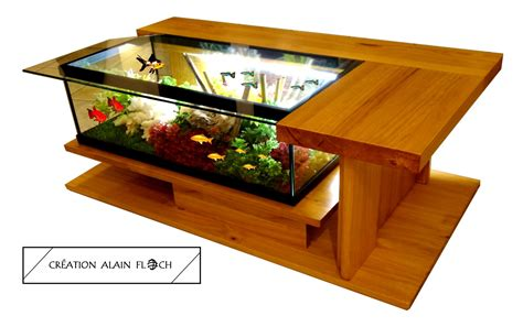 table basse design amazone supreme aquarium vivarium meubles et rangements par vpadesign