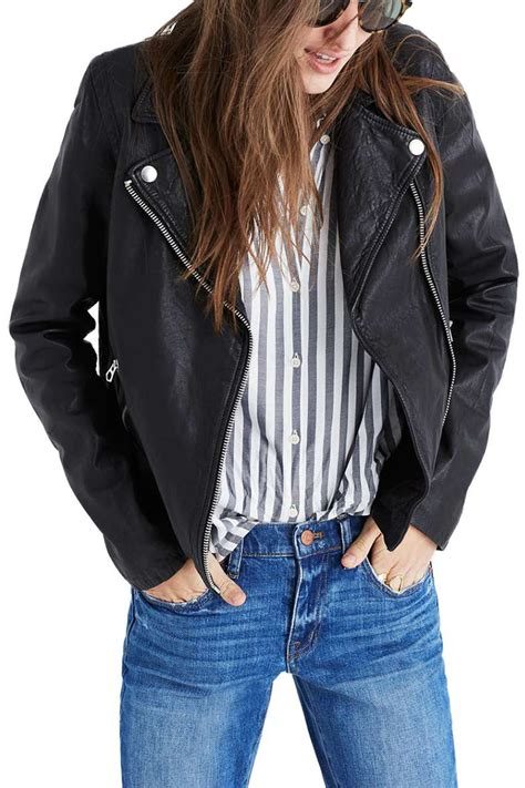 best moto jacket 10 cute leather moto jackets for spring 2018 womens faux
