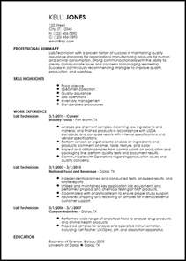 It Technician Entry Level Resume by Free Entry Level Lab Technician Resume Templates Resumenow