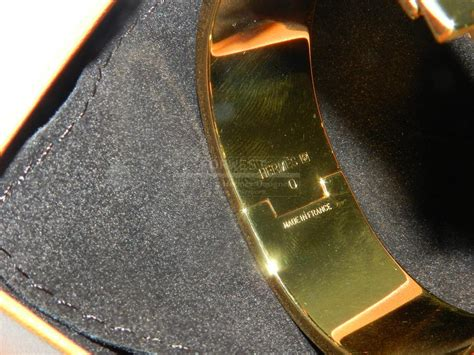 authentic hermes clic clac veronese gold hardware 950 0000
