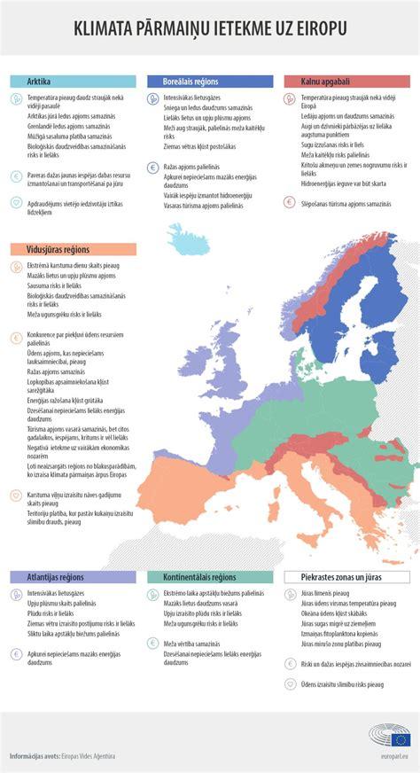 Klimata pārmaiņu sekas Eiropā (infografika) | Aktuāli ...