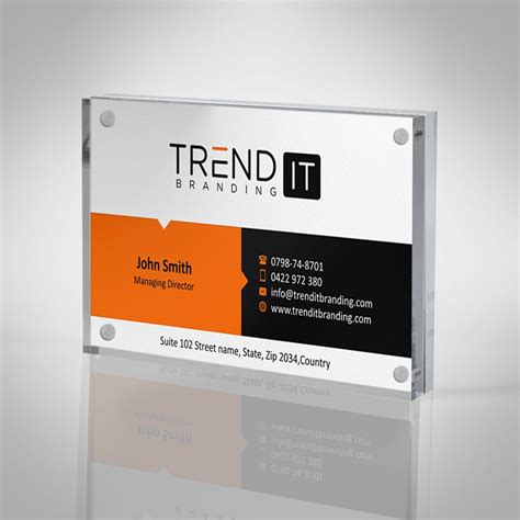 Just like your about us page template on your website. Business Card Display Block Frame
