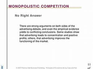 Monopolistic Competition Definition Essay Example