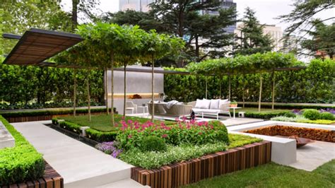 jardines hermosos  tu casa ideas de diseno
