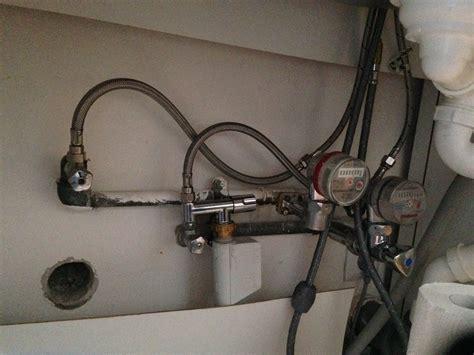 Waschmaschine An Spüle Anschließen by Waschmaschine In Der K 252 Che Anschliessen Anschlu 223 Aber