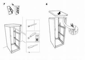 Ikea Erik File Cabinet 16 1  8x41 U0026quot  Assembly Instruction