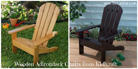 give your a place to sit with adirondack chairs