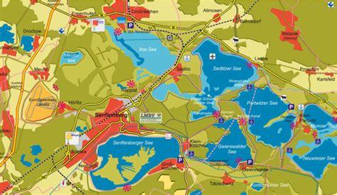 Motorisierter Wassersportarten am Geierswalder See, Kanal ...