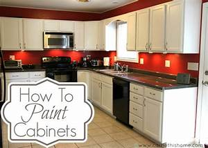 how to paint cabinets With best brand of paint for kitchen cabinets with simple canvas wall art